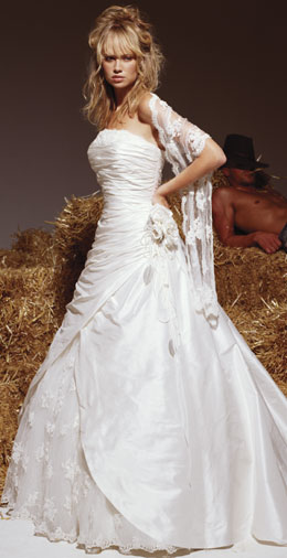 Region ZH/AG/BL: gebrauchtes Brautkleid/Festkleid \