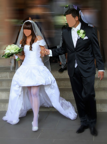 Region NRW/Köln : gebrauchtes Brautkleid/Festkleid